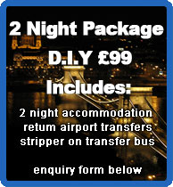 2 night package for £ 89 D.I.Y. includes