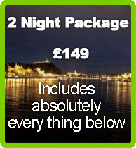 2 night stag package includes all for £ 129