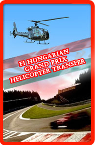 Formula1 helicopter transfer